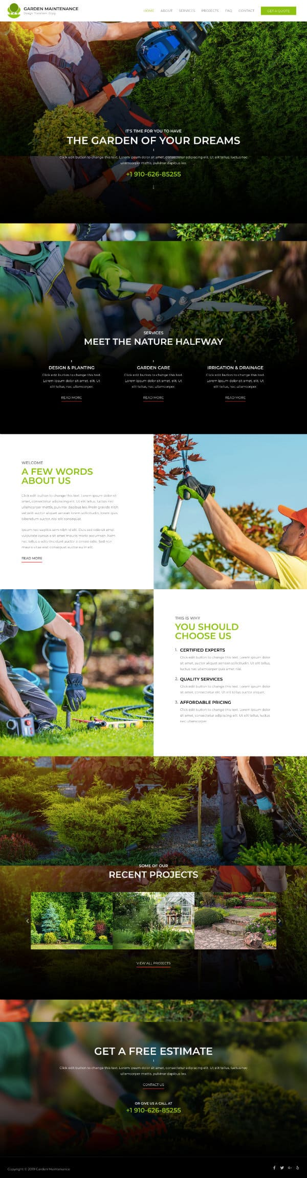 TI Gardening 600 - Task IT Virtual Solutions - Web Design Algarve